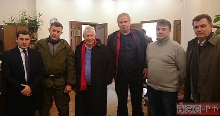 Вольфганг Герке и Андрей Хунко посетили ДНР
