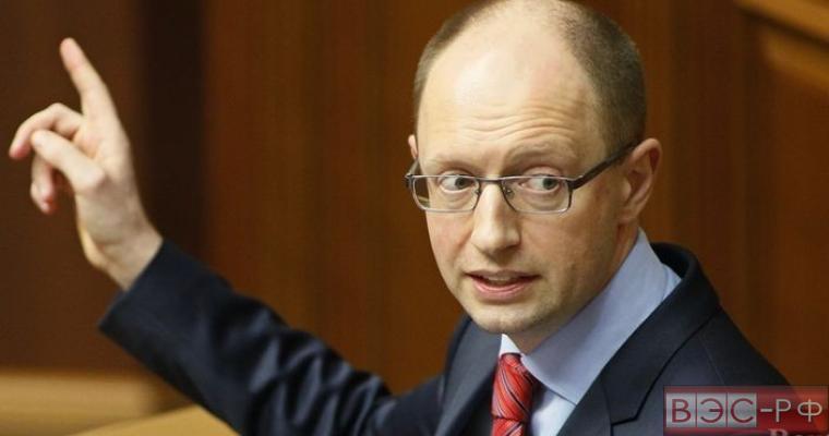 Премьер Украины Арсений Яценюк