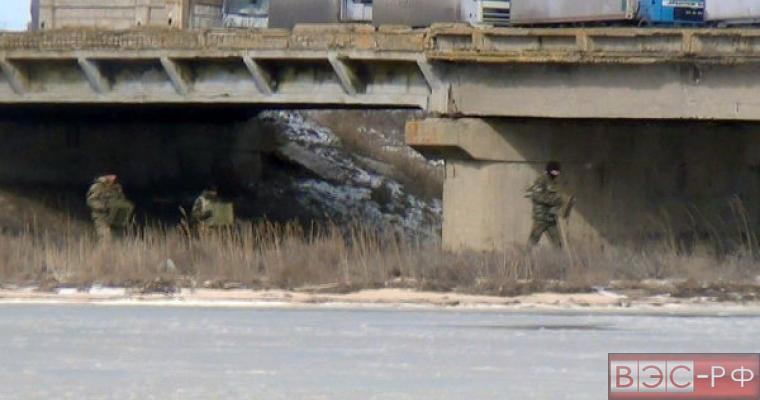 минирование мостов украинцами в Крыму