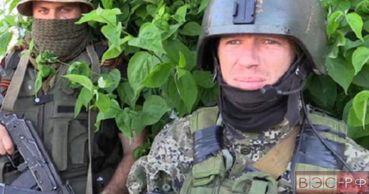 """Командир подразделения """"Спарта"""" ДНР Моторола"""