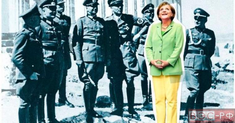 Spiegel объяснил появление Меркель в окружении нацистов на обложке