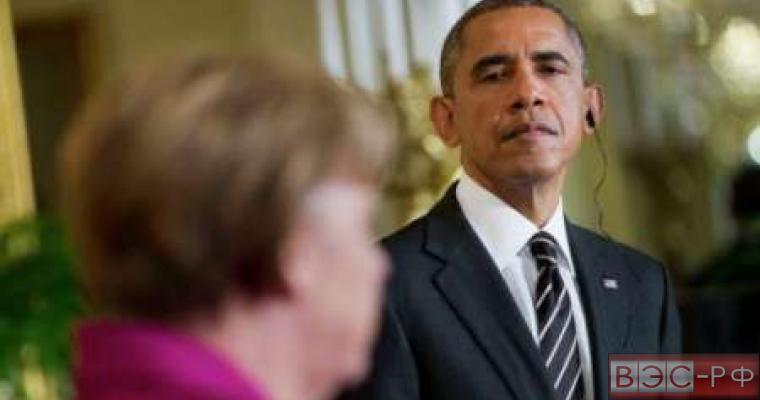 Обама - Меркель