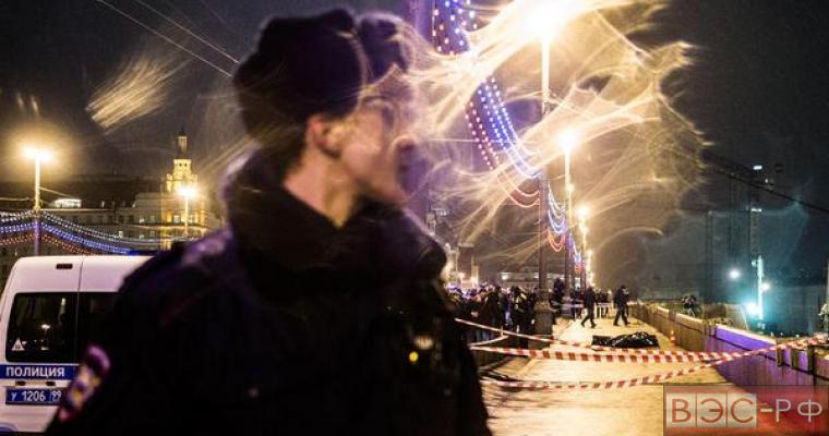 Немцова убили на Москворецком мосту