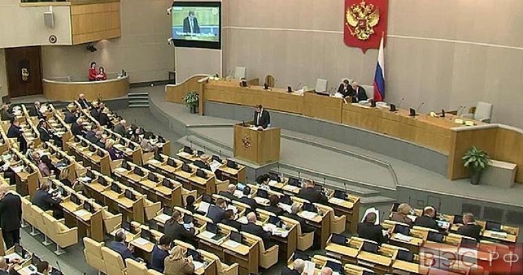 Госдума приняла поправки в бюджет-2015