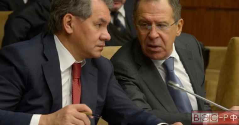 Сергей Шойгу и Сергей Лавров лидеры общественного мнения