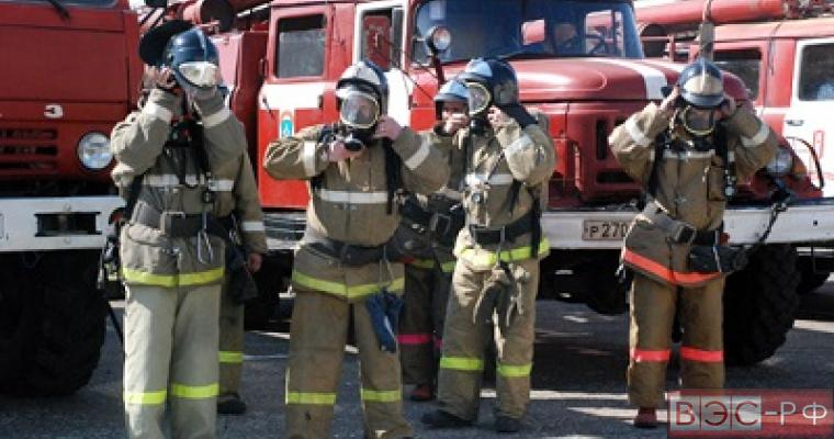Данные о взрывах не подтвердились, пожар локализован.