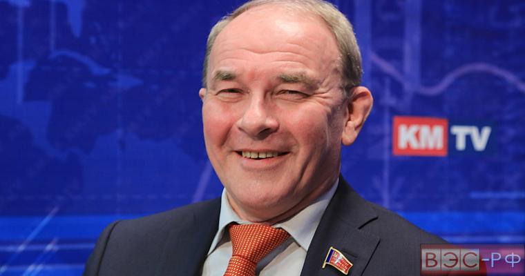 Депутат от КПРФ Вячеслав Тетекин