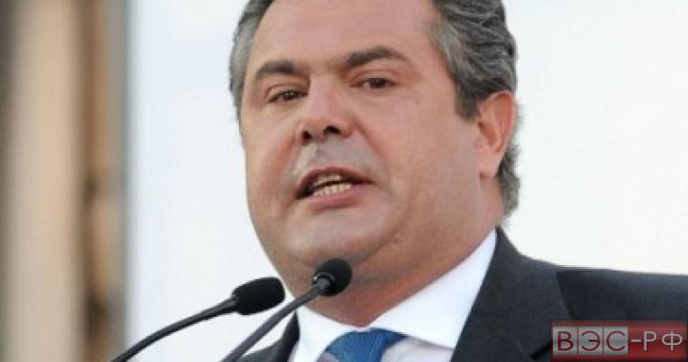 Греция борется за отмену санкций против РФ - Камменос