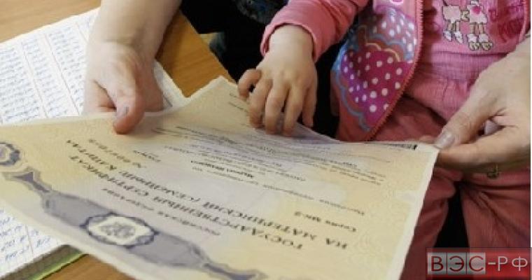 Правительство РФ предложило оставить материнский капитал нуждающимся