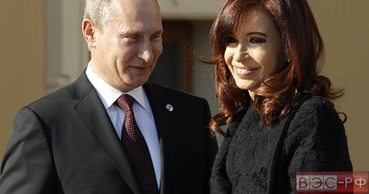 Путин предложил главе Аргентины обсудить и позитив, и проблемы