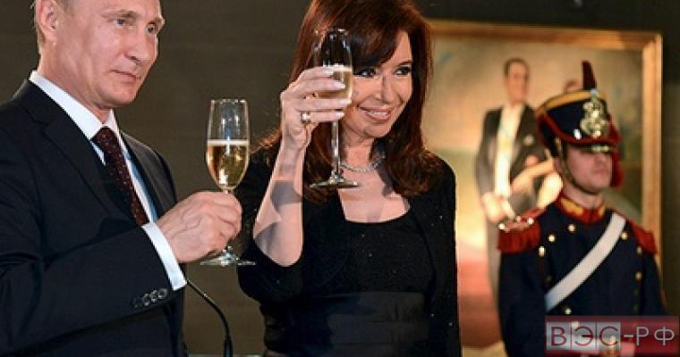Владимир Путин и Кристина Фернандес де Киршнер провели рабочую встречу