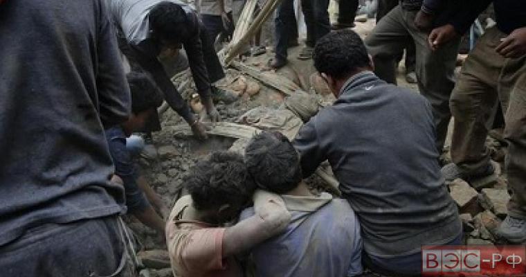Землетрясение в Непале жертвы и разрушения