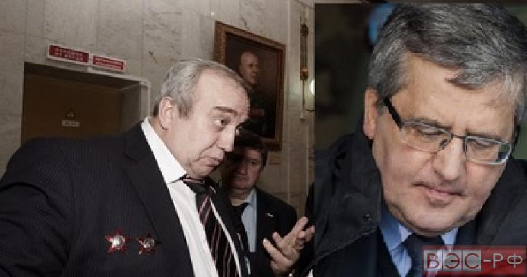 Клинцевич удивлен словами Комаровского