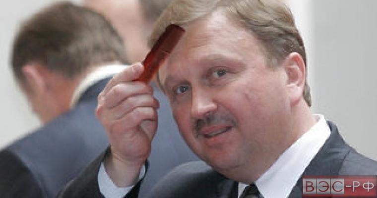 Андрей Кобяков, премьер-министр Беларуси