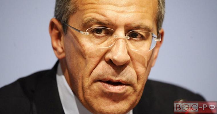 Сергей Лавров обартился в ОБСЕ призвать Киев прекратить обстрелы