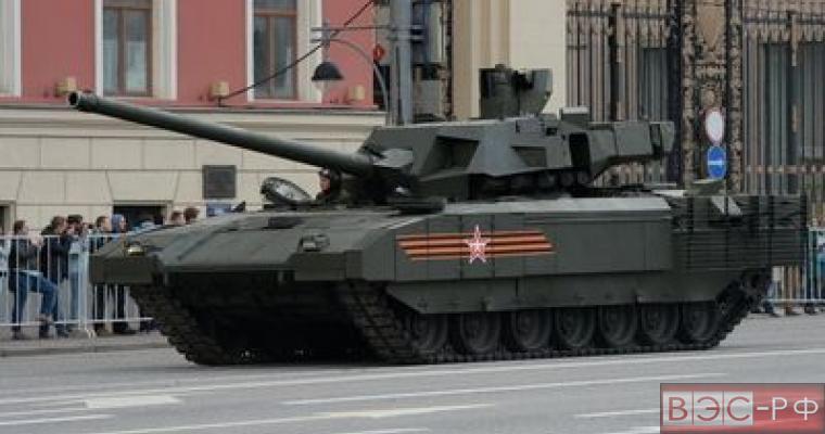 """Запад в восхищении и страхе от показа танка """"Армата"""""""