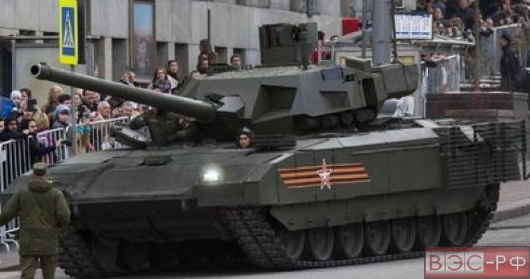 Танк Т-14  не имеет равных в мире
