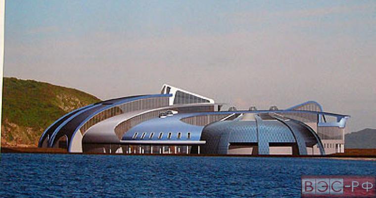 Строительство океанариума в Приморье