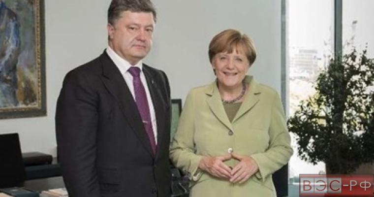 Меркель назвала отношения Украины и Германии превосходными
