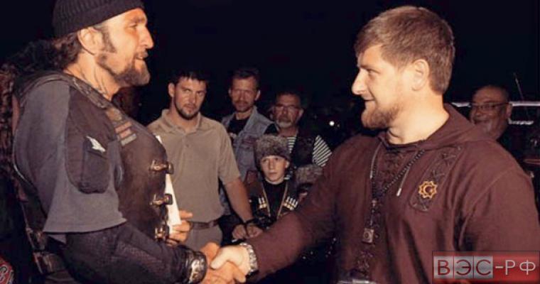 Рамзан Кадыров возглавил отделение «Ночных волков» в Чечне