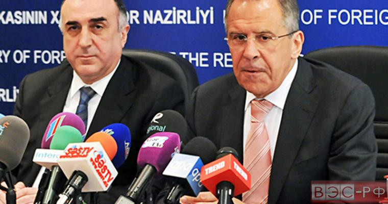 Лавров провел переговоры с Мамедъяровым