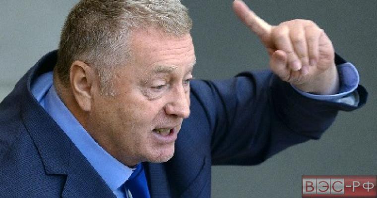 Жириновский высказался за возврат Вильнюса и Клайпеде