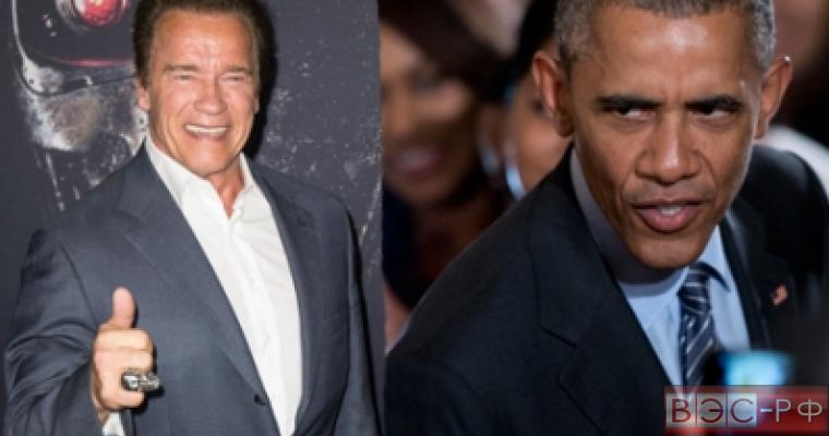 Шварценеггер готов стать президентом вместо Обамы