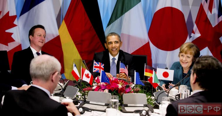 Лидеры стран «Большой семёрки»