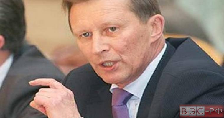 Иванов рассказал о продлении контрсанкций со стороны России