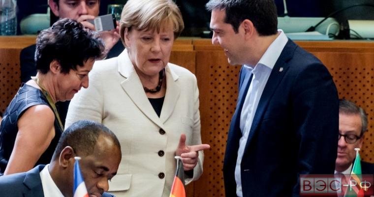 Меркель и Ципрас