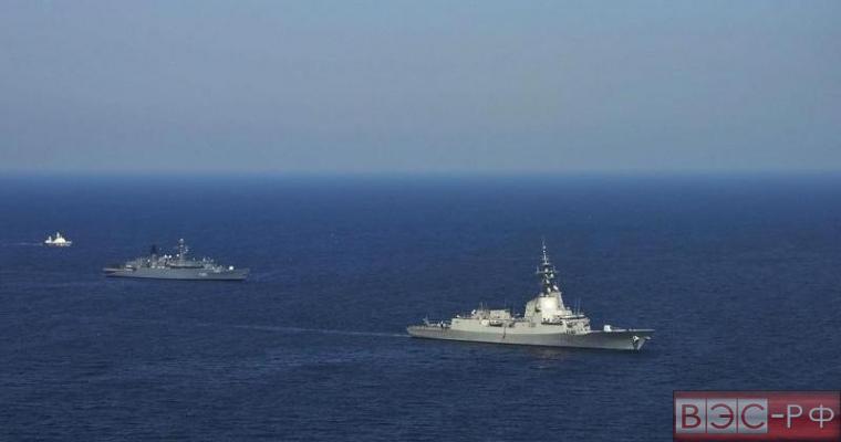 На учениях НАТО в Балтийском море произошел инцидент