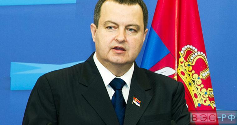 ЕС планировал «обмануть» Сербию, - Дачич