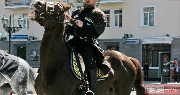 Лошади Кадырова вновь стали жертвой санкций