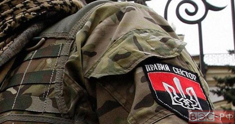 Правый Сектор сбежал из оцепления в Мукачево