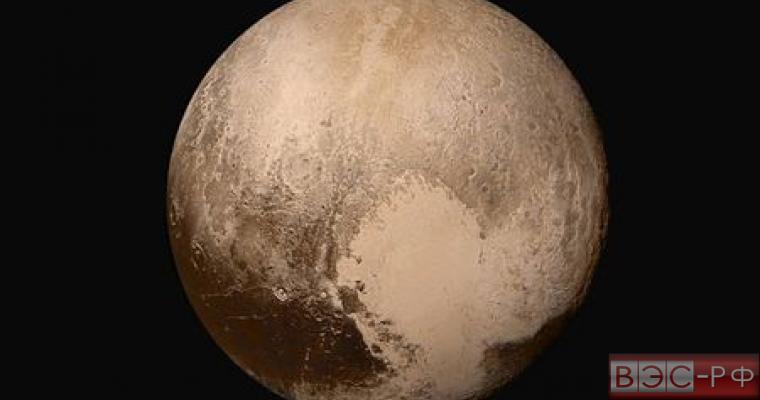 Новые снимки Плутона опубликовало NASA
