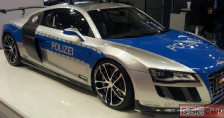 Полиция Санкт-Петербурга обзавелась спорткаром Audi R8