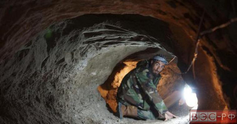 Туннель в Сирии