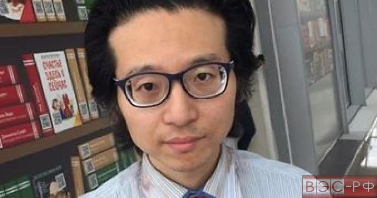 Японский журналист в Шереметьево