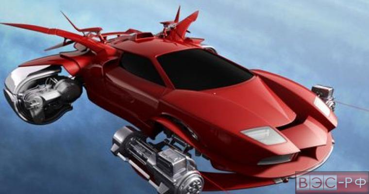 В России создают летающий автомобиль-квадрокоптер