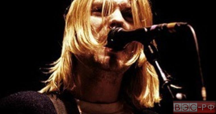 Курт Кобейн, лидер группы Nirvana