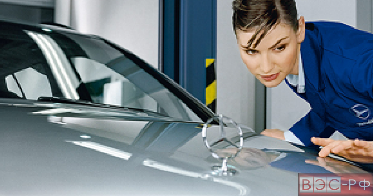 уровень продаж Mercedes увеличился