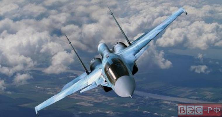 """Бомбардировщики Су-34 заболели """"Красухой"""""""