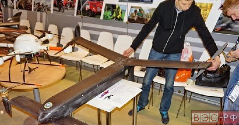 на МАКС-2015 представили модель беспилотника-конвертоплана