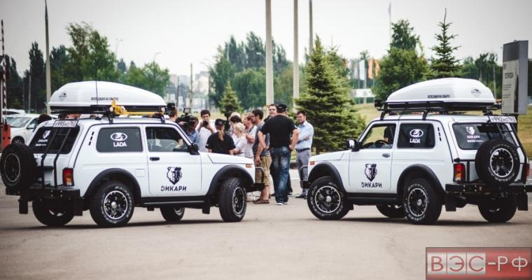 """""""Дикари"""" на Lada 4х4 покоряют север"""