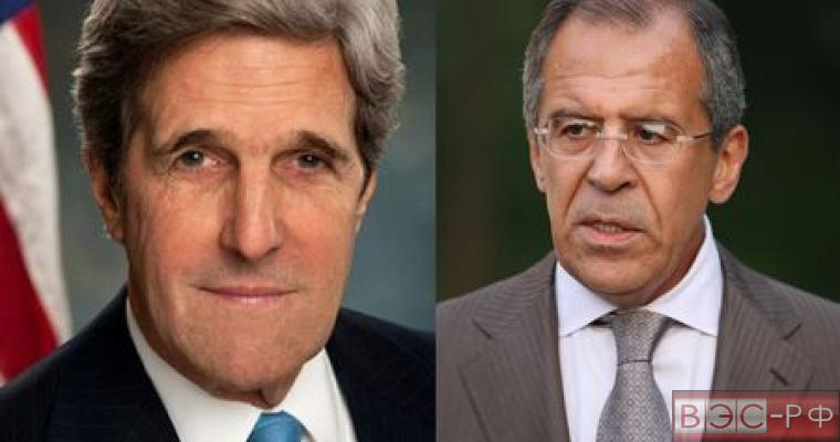 Лавров и Керри обсудят ситуацию в Сирии