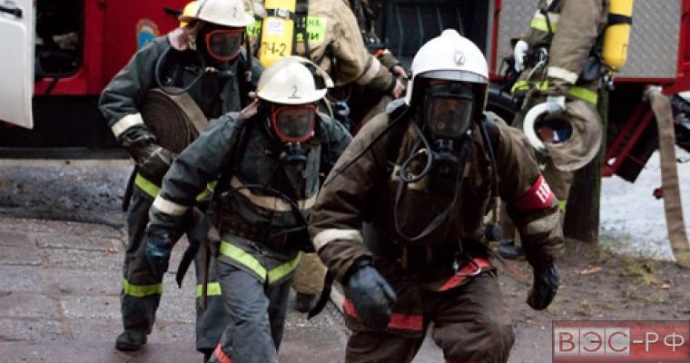 МЧС ликвидировала пожар