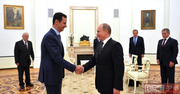 Песков обнародовал некоторые подробности визита Асада