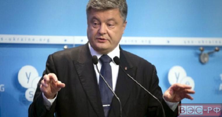Порошенко назвал возврат украинских партий условием выборов в Донбассе