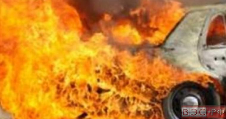Взрыв автомобиля у полицейского участка