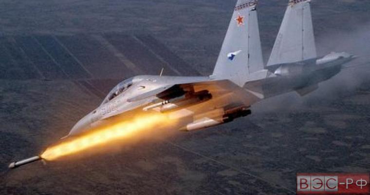 Видео последствий ударов ВКС России в Сирии